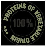100% vegetable